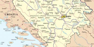 Bosnia și Herțegovina Bosnia Bosnia Herțegovina Hartă Hărți